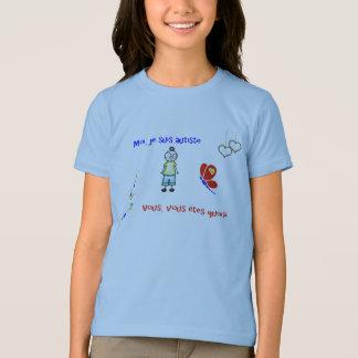 T - ShirtMoi je suis autiste blanc T-Shirt
