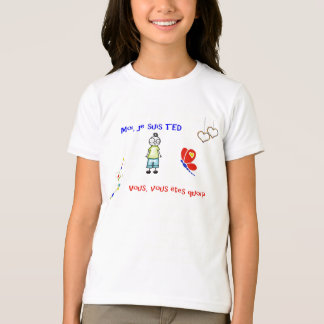T - ShirtMoi je suis TED blanc T-Shirt