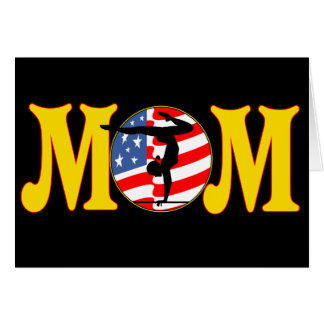 T - Shirts und Geschenke für Gymnastik-Mamma Karte