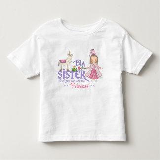 T - Shirts Unicorn-Prinzessin-große Schwester