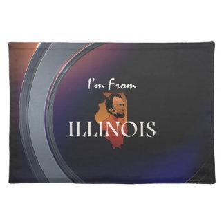 T-STÜCK bin ich von Illinois Tischset