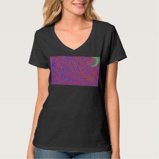 T-Stück der Frauen Schmelz T-Shirt