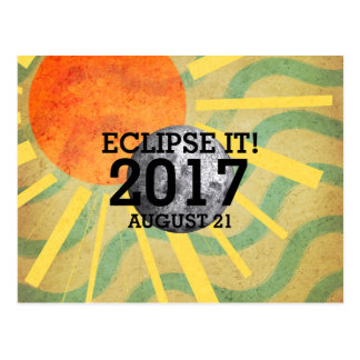T-STÜCK Eklipse es 2017 Postkarten