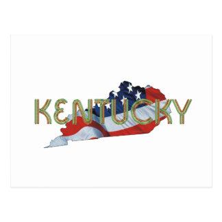 T-STÜCK Kentucky-Patriot Postkarte
