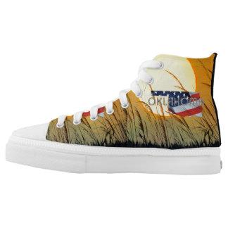 T-STÜCK Oklahoma-Patriot Hoch-geschnittene Sneaker