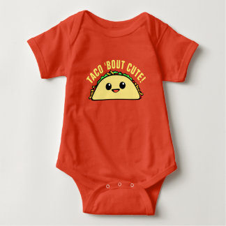 Taco-Kampf niedlich Baby Strampler