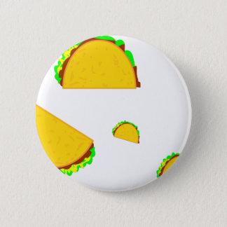Taco-Regel Runder Button 5,1 Cm