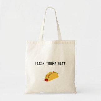 Tacos-Trumpf-Hass-Taschen-Tasche Tragetasche