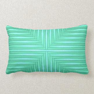 Tadelloses grünes modernes elegantes stilvolles zierkissen