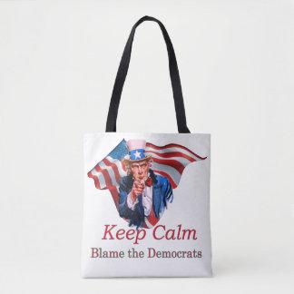 Tadeln Sie die Demokraten