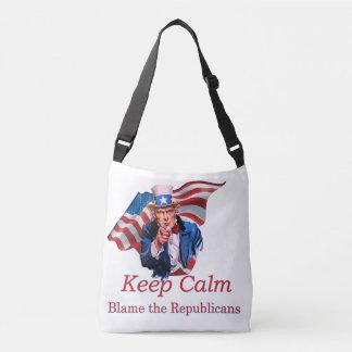 Tadeln Sie die Republikaner Tragetaschen Mit Langen Trägern