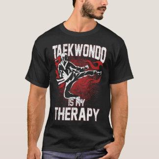 Taekwondo ist mein lustiger T - Shirt der Therapie