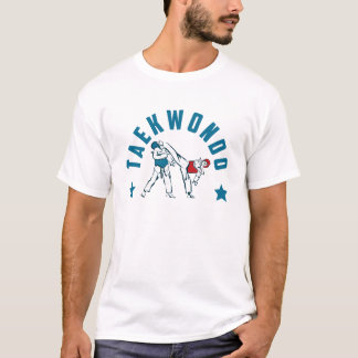 Taekwondo-Sportler Figthers Collection T-Shirt