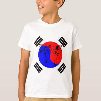 Taekwondo-Sportler T-Shirt