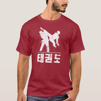 Taekwondo-TRITT T-Shirt