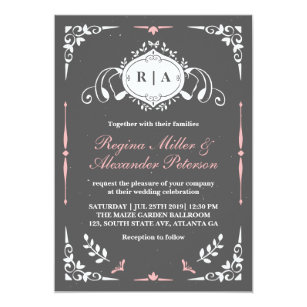 Tafel Vintage Mittelalterliche Hochzeits Einladung Einladung