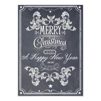Tafel-Weihnachtsgrüße 12,7 X 17,8 Cm Einladungskarte