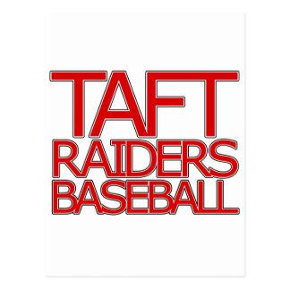 Taft-Räuber-Baseball - San Antonio Postkarte