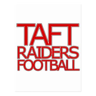 Taft-Räuber-Fußball - San Antonio Postkarte