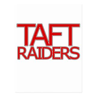 Taft-Räuber - San Antonio Postkarte
