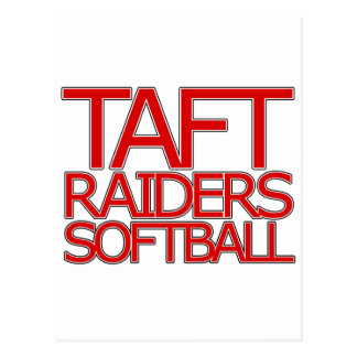 Taft-Räuber-Softball - San Antonio Postkarte