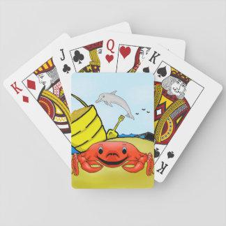 Tag an den Strand-Spielkarten Spielkarten