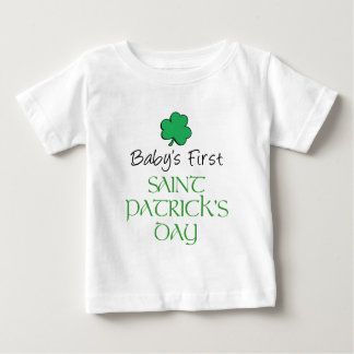 Tag Baby-erster St. Patricks Baby T-shirt
