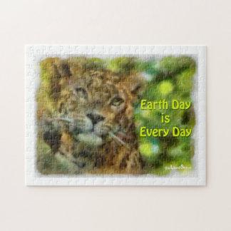 Tag der Erde-Puzzlespiel Puzzle