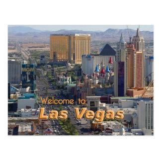 Tageslicht auf dem Las Vegas-Streifen Postkarte