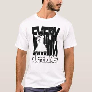 Täglich leide ich - witzige Shirts