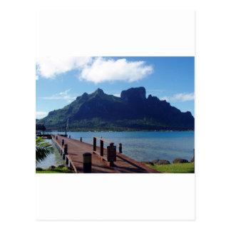Tahiti - eine andere Ansicht Postkarte