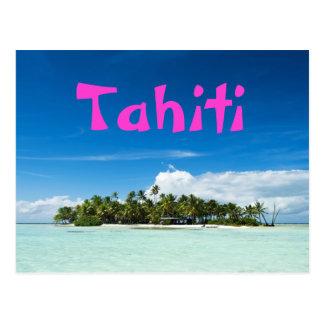 Tahiti-Inselpostkarte Postkarten