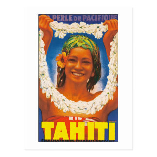 Tahiti ~ La Perle du Pacifique Postkarte