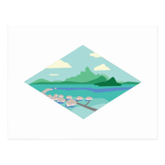 Tahiti Postkarte