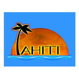 Tahiti-Postkarte Postkarte