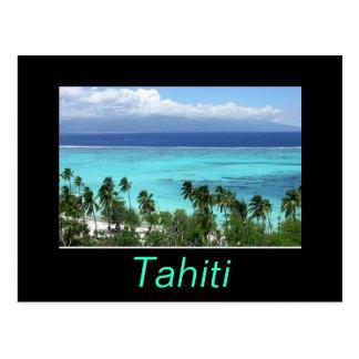 Tahiti-Postkarte Postkarten