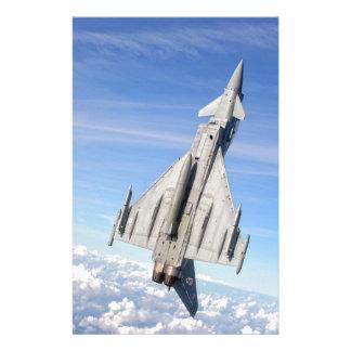 Taifun-Kampfflugzeug Briefpapier
