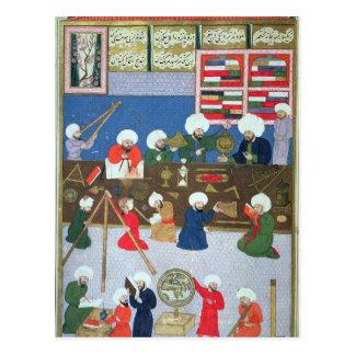 Takyuddin und andere Astronomen Postkarte