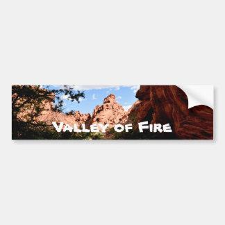 Tal des Feuers Nevada Autoaufkleber