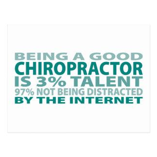 Talent des Chiropraktor-3% Postkarte