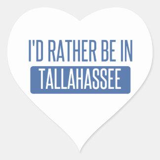 Tallahassee Herz-Aufkleber