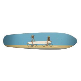 Tandem Skateboard Deck