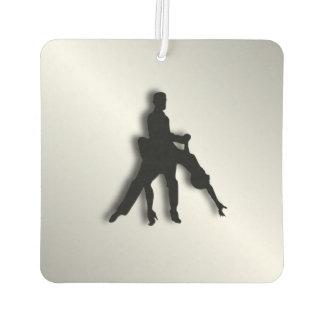 Tango-Tänzer-Silhouette Lufterfrischer
