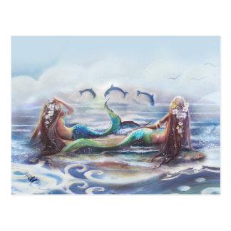 Tanz der Delphine Postkarten