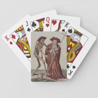 Tanz des Todes in Basel | der Kardinal Pokerkarten