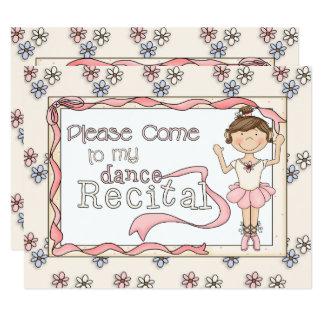 Tanz-Erwägungsgrunden-Einladung Karte