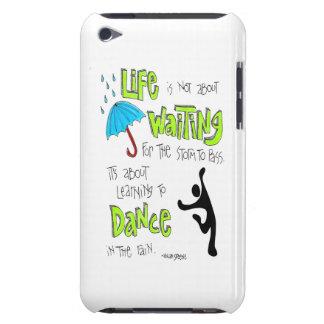 Tanz im Regen-Zitatipod-Kasten Barely There iPod Etuis
