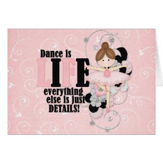 Tanz ist Leben Karte