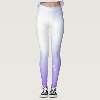 Tanz-lila Gamaschen-Modeworkout-Sport Leggings
