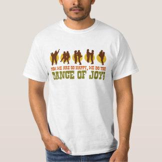 Tanz lustiger 80er der Freude der Retro T-Shirt